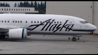 Alaska Airlines FIRST Class - San Francisco to Seattle - 737-400 (AS311)