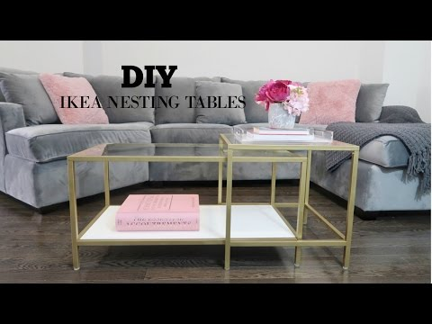 Diy Ikea Coffee Table Makeover You