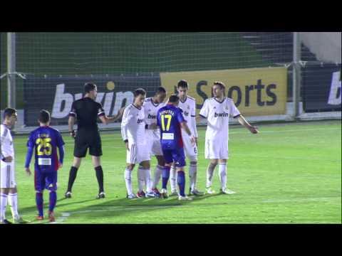 Gol de Edu Albácar en el Real Madrid Castilla (0-1) Elche CF - HD