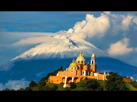 IGLESIA DE LOS REMEDIOS CHOLULA PUEBLA MÉXICO