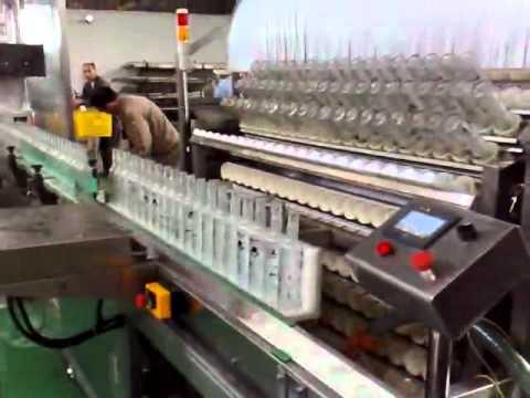 Industrial Multi-Bottle shapes Glass Bottle Washing Machine - YouTube