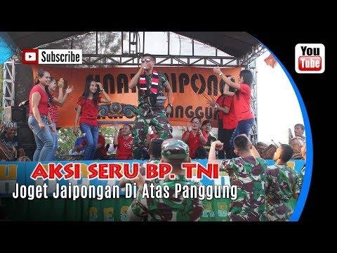 Inilah Aksi Seru Anggota TNI Joget Jaipongan. Juragan Empang.