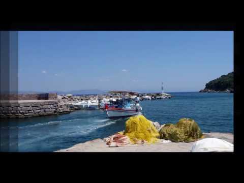 Lesvos Island Greece Skala Sikaminias