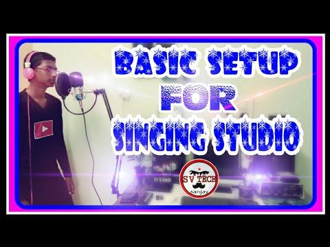 Basic Setup For Singing Studio In Tamil