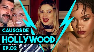 "Rihanna, Freddie Mercury e Woody Harrelson no ""CAUSOS DE HOLLYWOOD ep 02"""