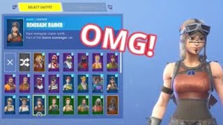 Rare fortnite mako glider account