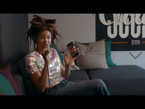 Valerie June uses the new SoundCloud Pulse App