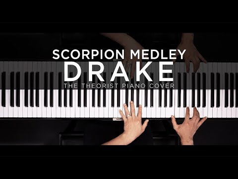 Drake Scorpion Medley | The Theorist Piano Cover