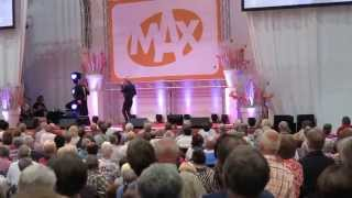 18 September 2014 Jan Keizer en Annie Schilder op de 50 plus beurs