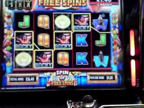 free slot machine rocky