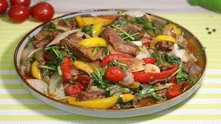 ВОТ ТАК НАДО ГОТОВИТЬ баранину с овощами! Уж очень вкусно!