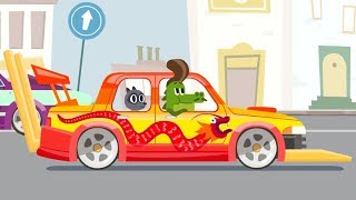 Animation For Kids - Cars, cars - Car tuning - Cars for Toddlers, Kids - Bosozuku Car Festival