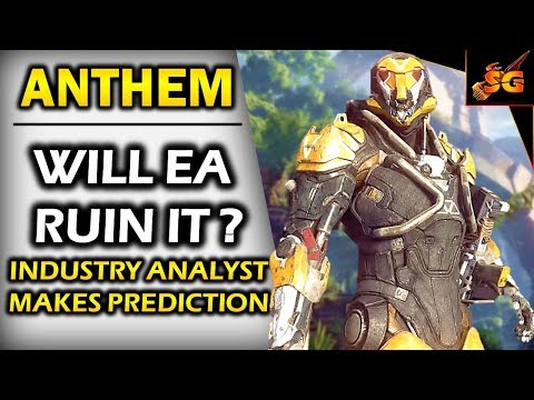 WILL EA RUIN ANTHEM WITH MICROTRANSACTIONS?? A Famous Industry Analyst Makes His Predictions on EA..