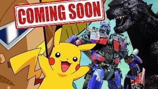 COMING SOON TO CARTOON FIGHT CLUB! Pikachu, Godzilla, Transformers, & BoBoBo!