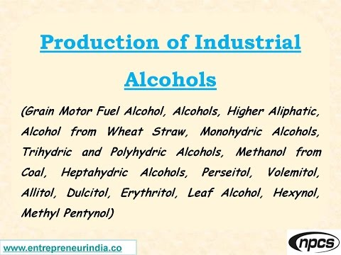 Production of Industrial Alcohols