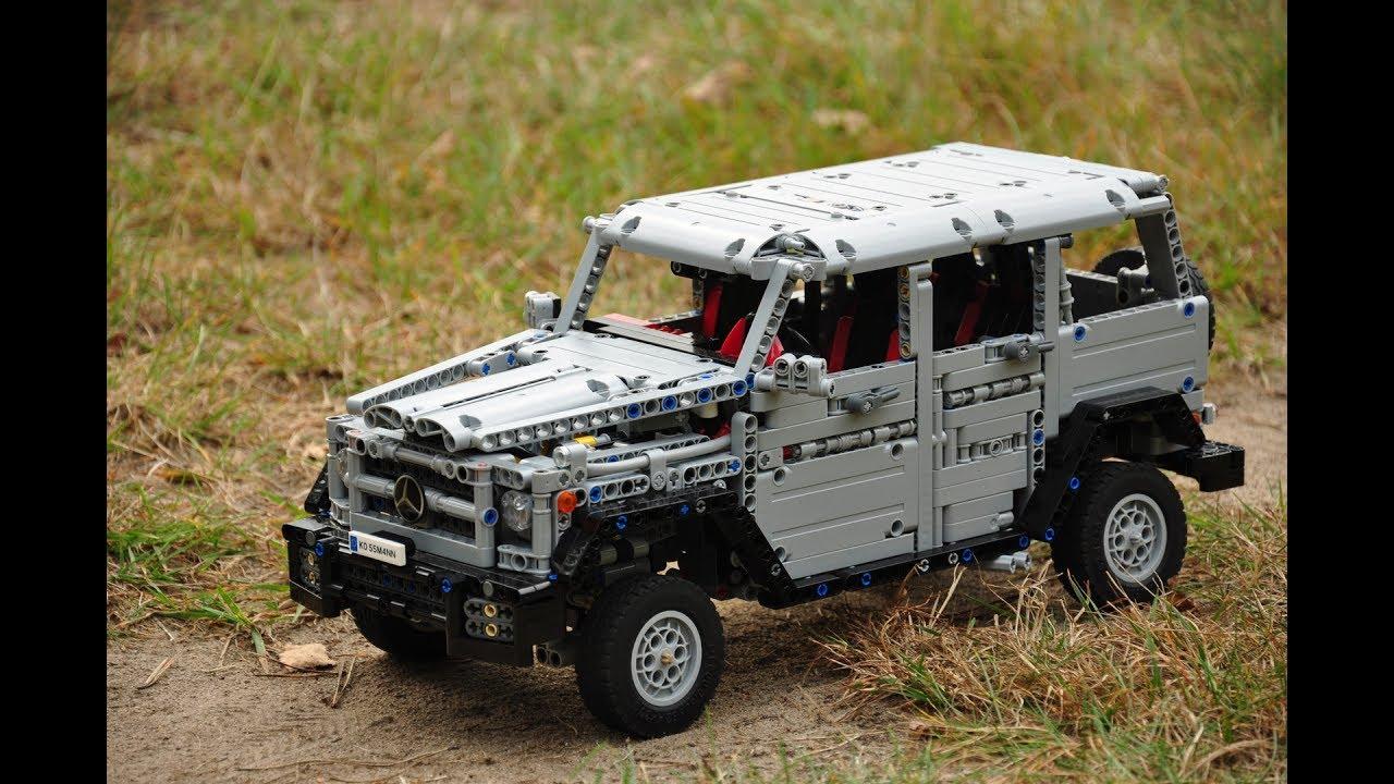 Mercedes Amg G 65 Lego Technic Model Moc Youtube