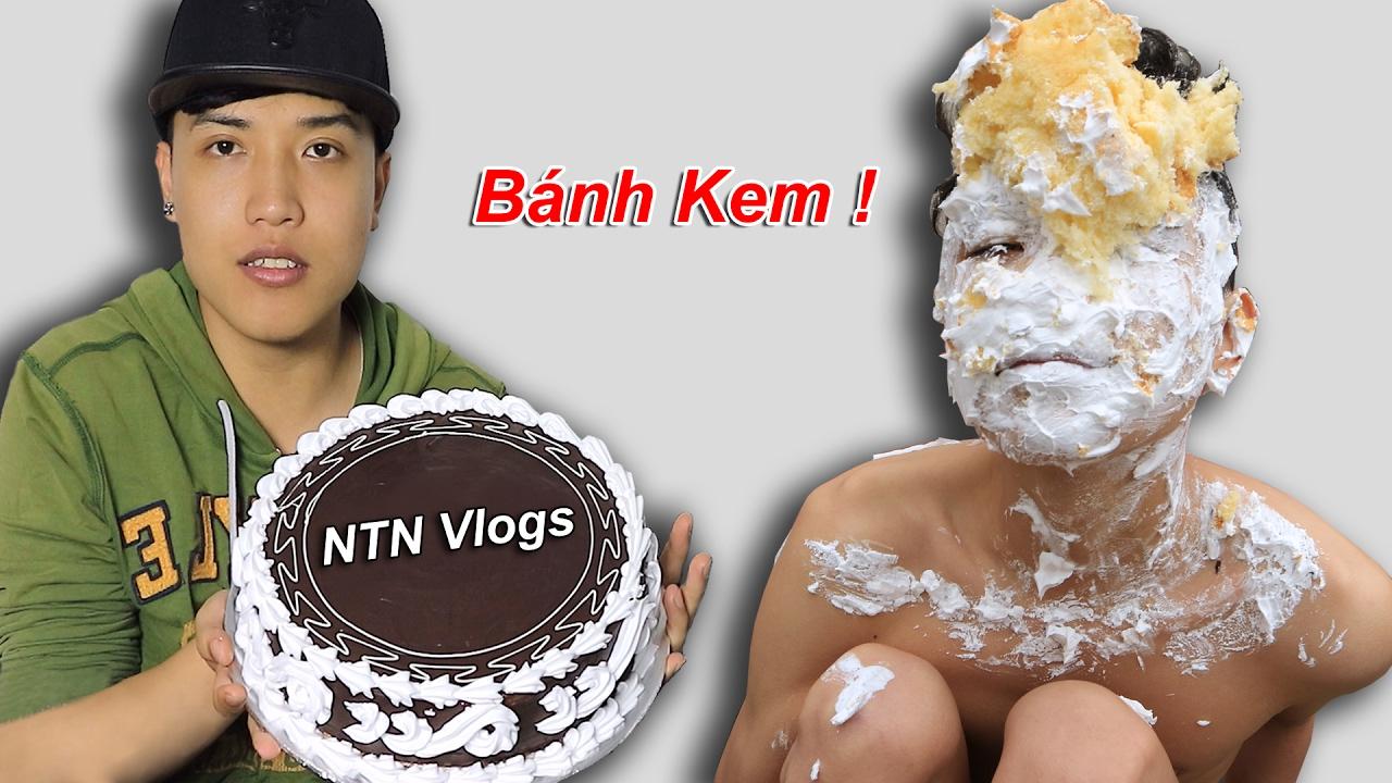 NTN – Thử Đập Bánh Kem Vào Mặt (Smash a pie to a face)