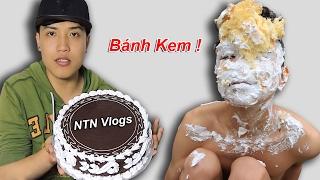 NTN - Thử Đập Bánh Kem Vào Mặt (Smash a pie to a face)