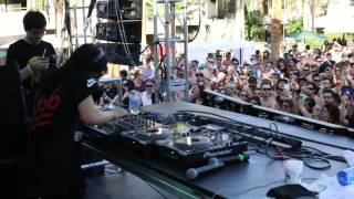 Skrillex @ LED Dayclub 2015