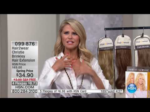HSN | Christie Brinkley Hair Extensions & Skincare / Beauty Innovations 03.28.2017 - 11 PM