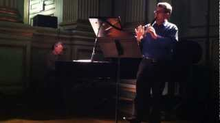 LCCE performs Johannes Brahms Sonata for Clarinet and Piano in F minor