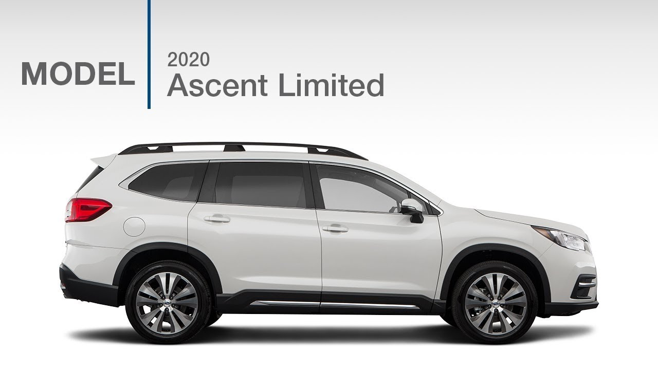 2020 Subaru Ascent Limited Suv Model Review