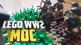 Lego ww2 MOC Бой за Зееловские высоты   Лего самоделка по Второй Мировой войне