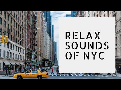 CITY SOUNDS, NY CITY NOISE SLEEP SOUNDS, CITY AMBIENCE SOUND. BIG CITY SOUNDSCAPE WHITE NOISE