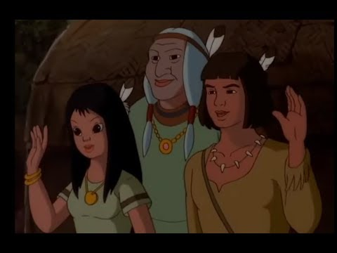 POCAHONTAS AND THE SPIDER WOMAN  - AR / بوكاهونتاس