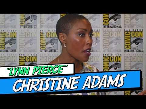 "Christine Adams ""Lynn Pierce"" talks Black Lightning & family ties."