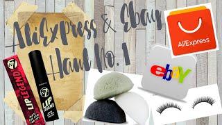 ALIEXPRESS & EBAY HAUL NO  1