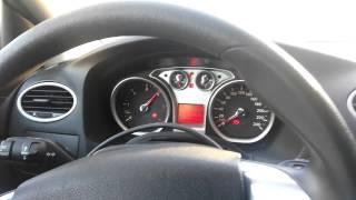 Ford Focus 1.6TDCI 2008 прожиг сажевого фильтра