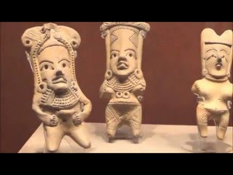 Gerald Clark tours Mexico City National Museum of Anthropology - 2017