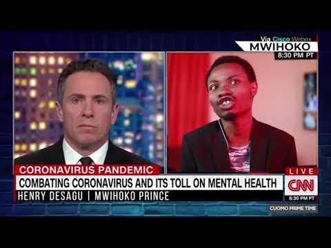 DESAGU SPEAKS TO CNN ON CORONA VIRUS