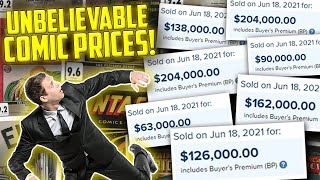 Comic Book Sales Reaching INSANE Heights! // The Promise Collection Sales Figures ft. GoldenAgeGuru