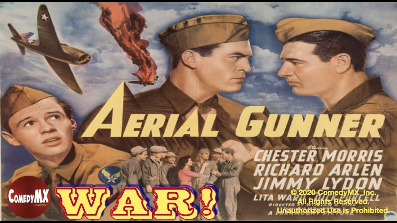 Classic WW2 War Movie : Aerial Gunner (1943) ( Full Movie )
