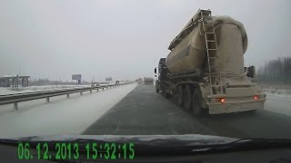 Russian Car Crash Winter Accidents December 2013 Compilation