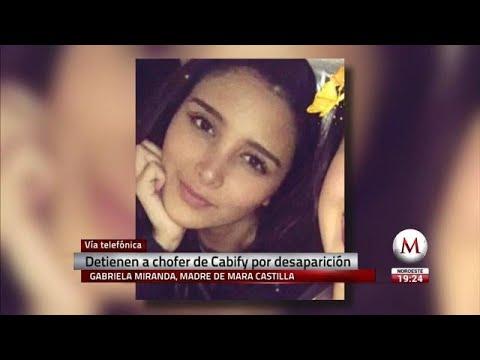 Entrevista a la madre de Mara, joven desaparecida después de abordar un Cabify