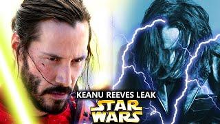 Keanu Reeves Star Wars Leak Is Shocking! (Star Wars Explained)