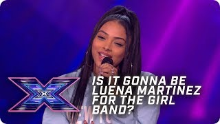 Is it gonna be Luena Martinez for the Girl Band? | X Factor: The Band | Arena Auditions