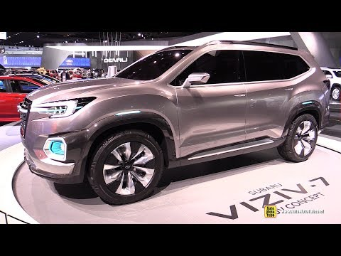Subaru Viziv 7 SUV Concept Walkaround 2017 Detroit Auto Show