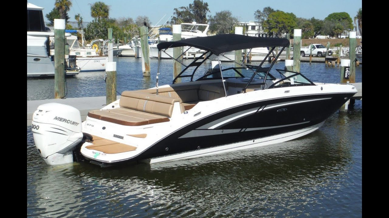 Sea Ray 220 Sundeck >> 2016 Sea Ray 270 Sundeck Outboard Boat For Sale at MarineMax Venice - YouTube