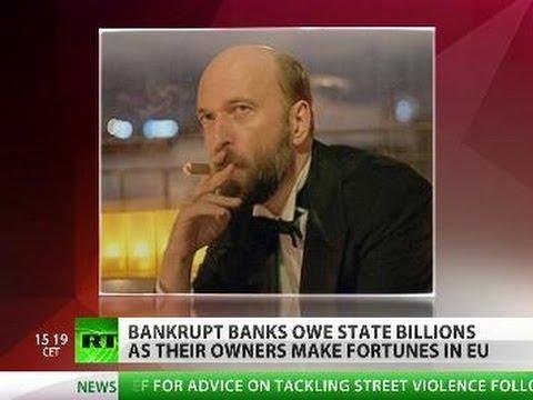 Russian runaway banker steals billions, lands on UK's rich list