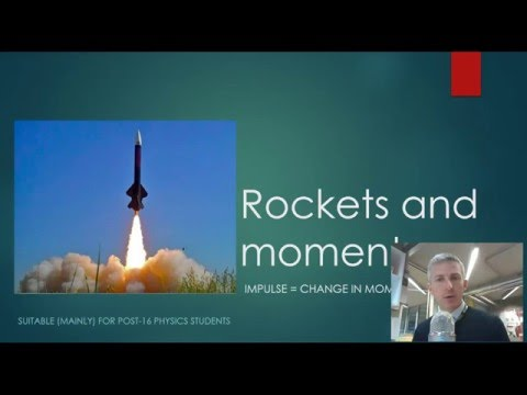 Rocket Launches - momentum and impulse
