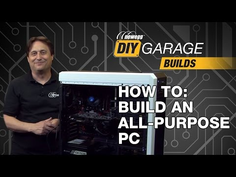 Newegg DIY Garage: How to Build an All Purpose PC - Featuring SanDisk's 480GB SSD