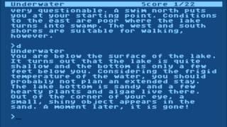 Zork III for the Atari 8-bit family