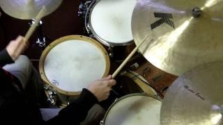 Swing Feel Exercise for Drum set