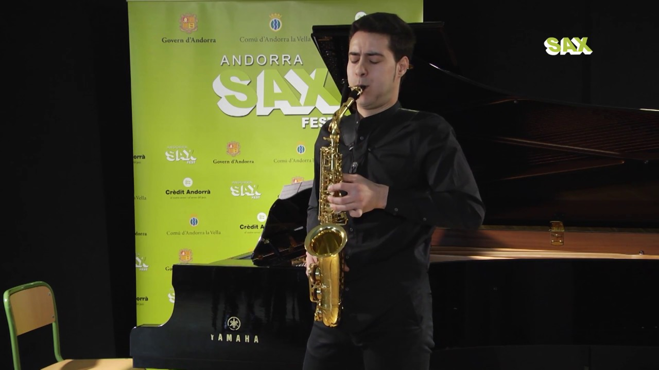 JESUS RENESES QUINTERO - 1st ROUND - V ANDORRA INTERNATIONAL SAXOPHONE COMPETITION 2018