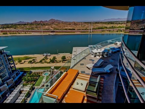Imagine multi-million dollar views from your Phoenix Waterfront Penthouse!