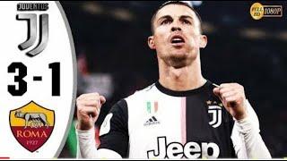 Juventus Vs As Roma 3-1  Highlights  Coppa Italia 2020